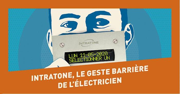 Intratone le geste barrière de l'électricien