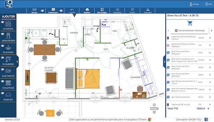 solution numérique show you architecte