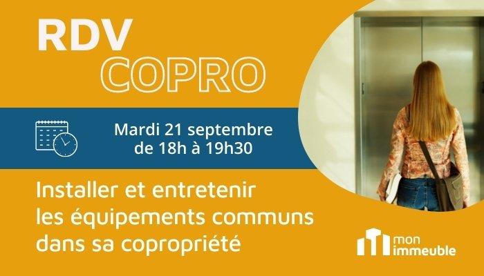 RDV COPRO contrat d'entretien en copropriété