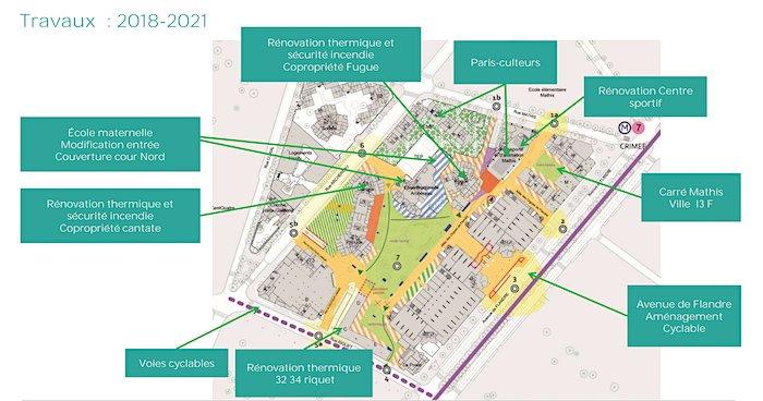 Tour Fugue programme de renouvellement urbain