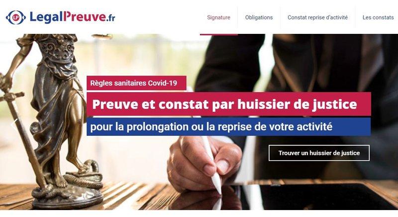 constat par huissier de justice legalpreuve.fr