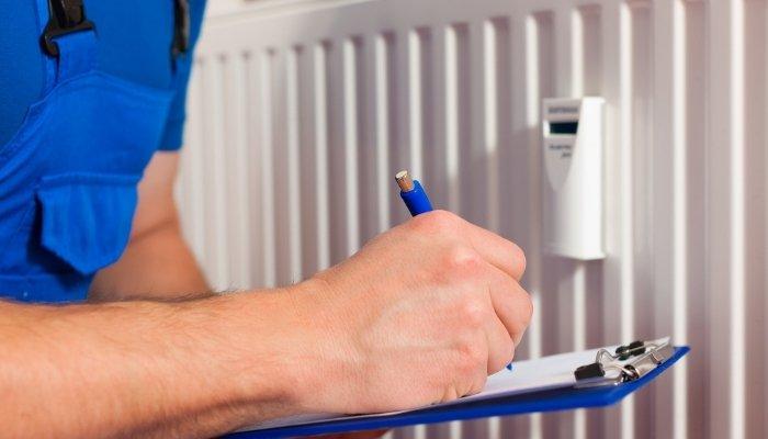 Répartiteur de frais de chauffage Ista