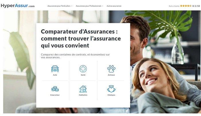 assurance de prêt immobilier comparateur Hyper Assur