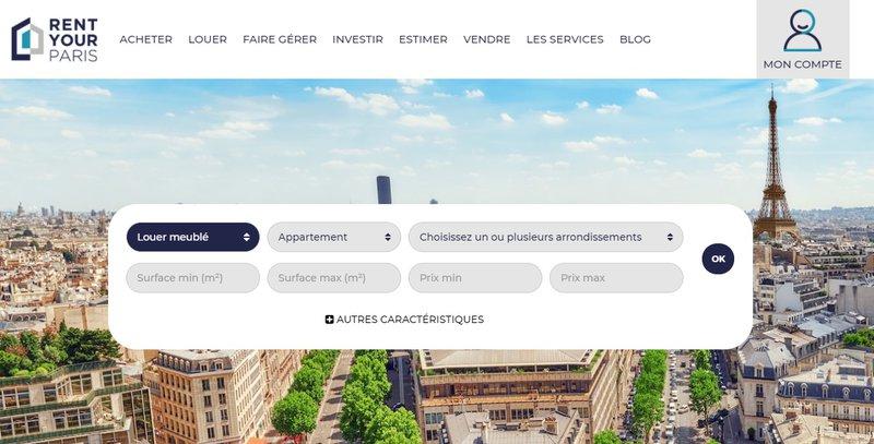 location meublée rent your paris