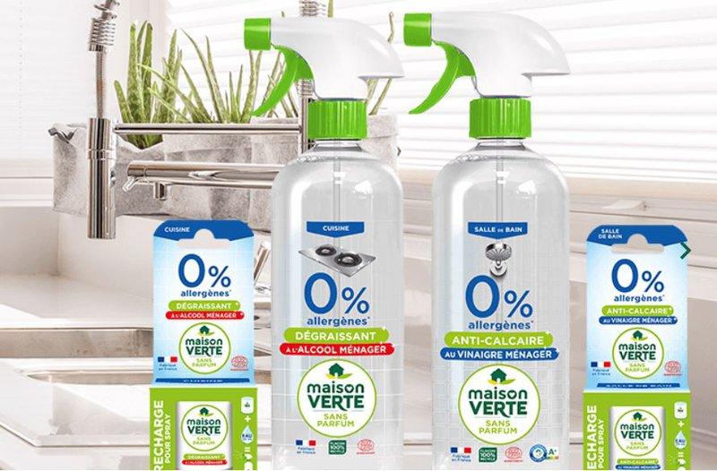 Maison vertes produits ménagers