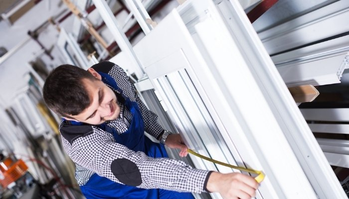 marché de la fenêtre - fabrication PVC blanc