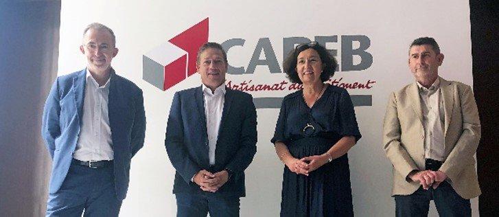 patrenariat Capeb et GRDF en faveur de l'usage du gaz