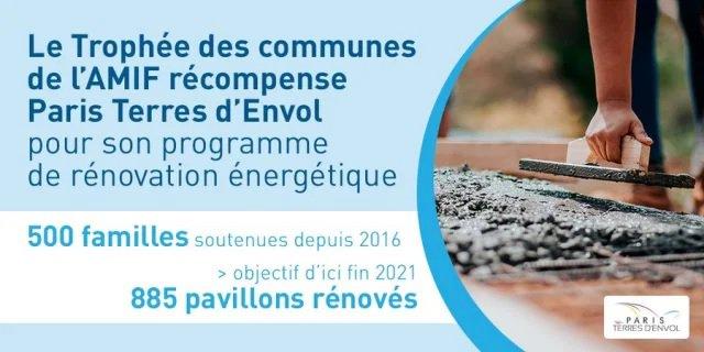 Trophée des communes de la rénovation énergétique