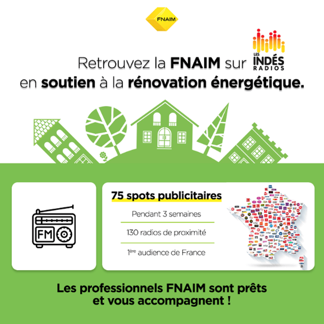La FNAIM soutient la rénovation énergétique