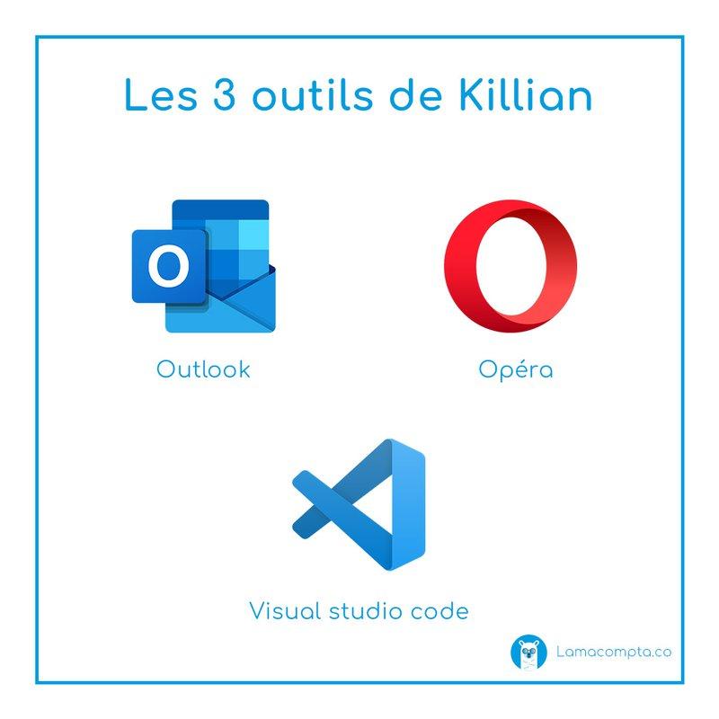 Les 3 outils de Killian