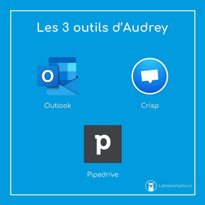 Les 3 outils d'Audrey