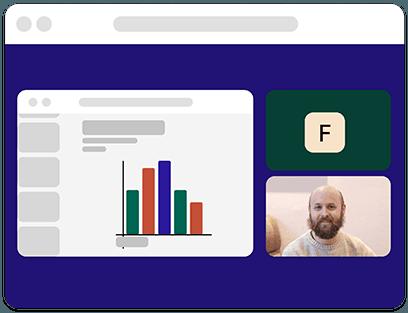 Whereby - Partagez votre écran et vos présentations