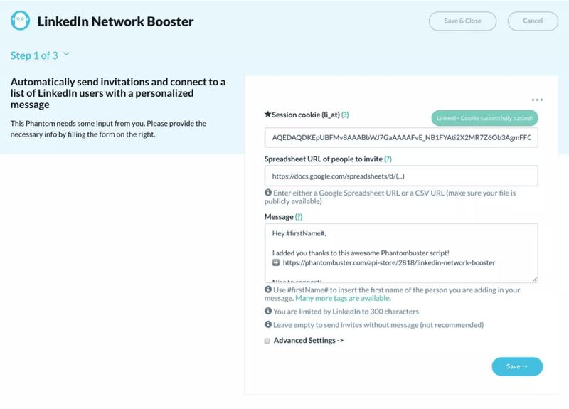 LinkedIn Network Booster