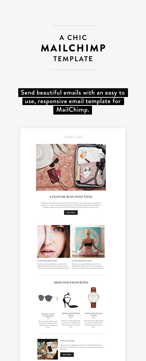 MailChimp B2B email marketing examples