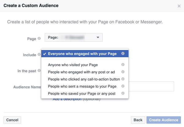 Custom audience on Facebook marketing