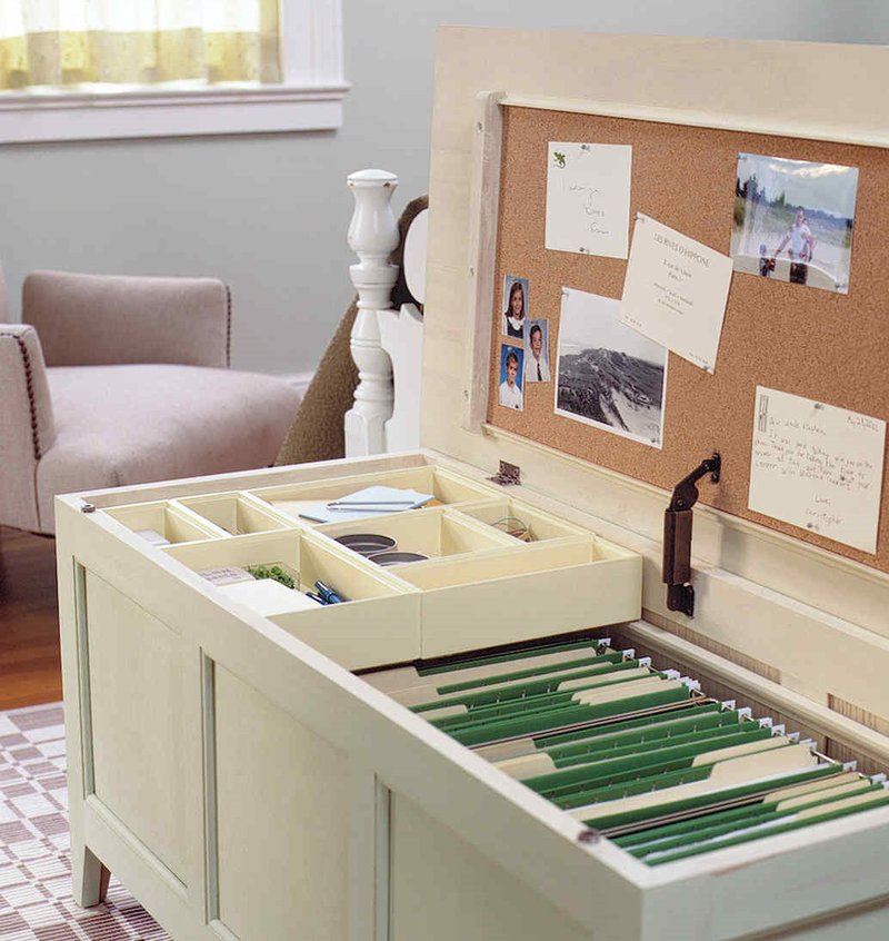 Office Organization Idea 8: Reconsider How You File