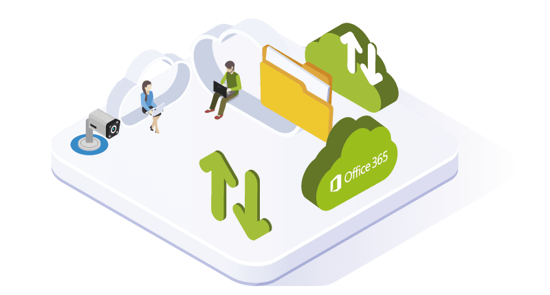 Back-up van Office 365 data