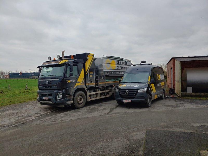Rioolinspectiewagen en combiwagen
