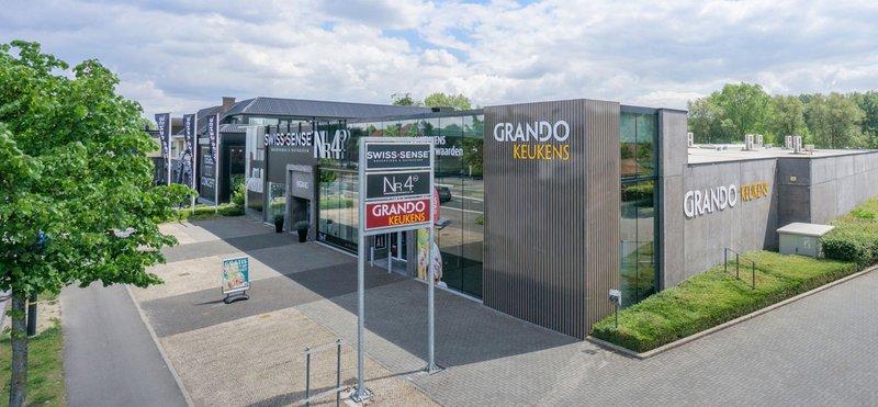 Grando Keukens-showroom in Gent