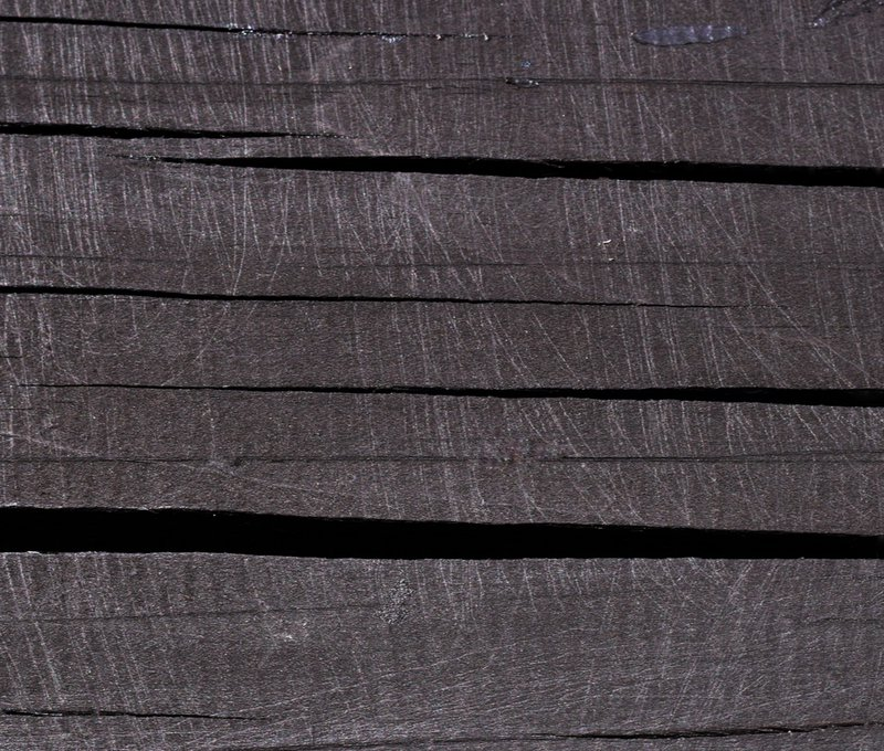 Soorten hout: ruwe verouderde wengé