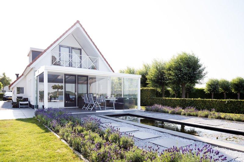 Aanbouw terrasoverkapping