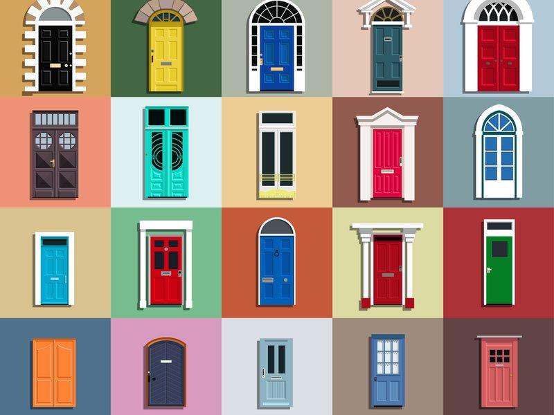 Kies voor een deur op maat voor verschillende stijlen, kleuren en motieven