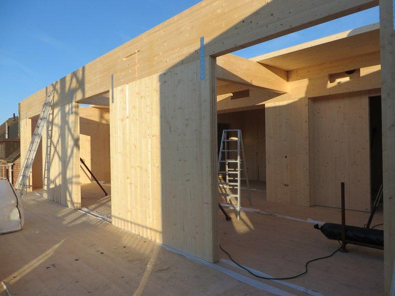 CLT-constructie