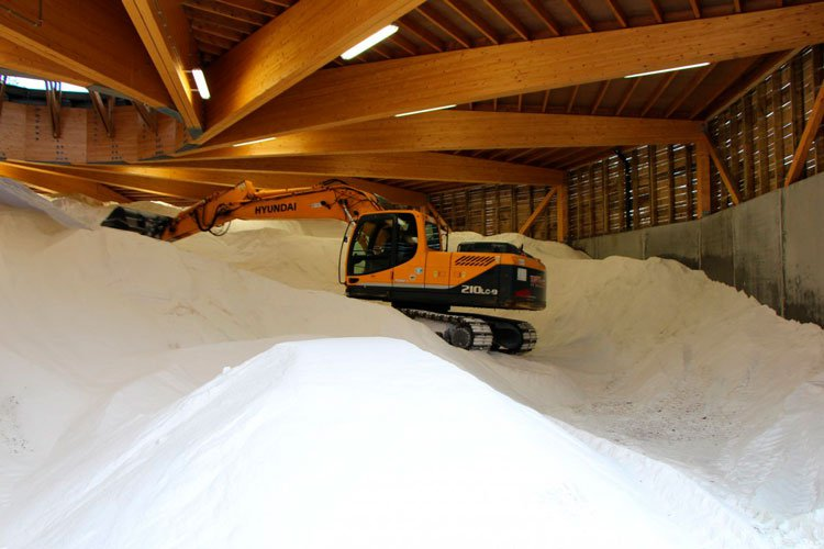 Salt storage facility in Grobbendonk 2