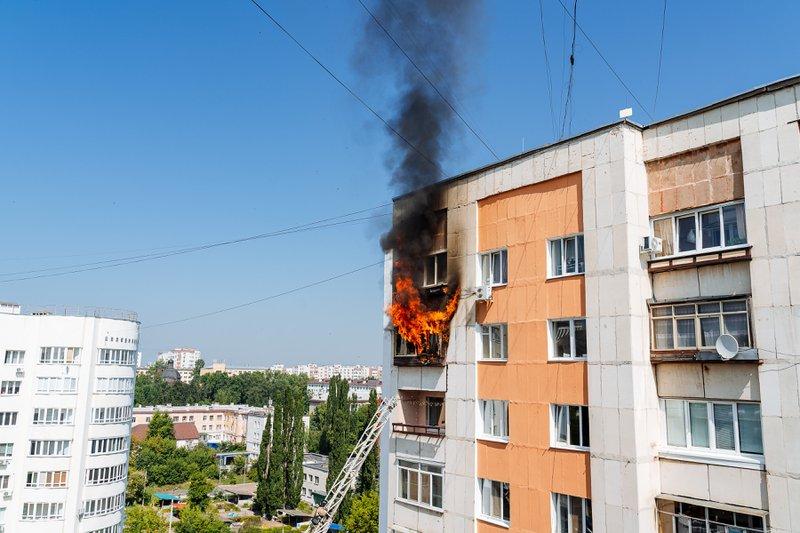 Beton scoort het best op vlak van brandveiligheid, maar is niet onaantastbaar