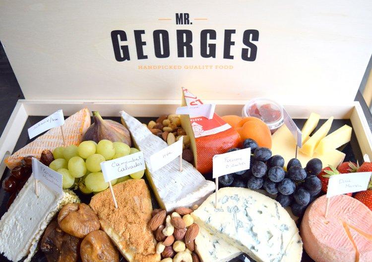 plateau fromages chez M. Georges