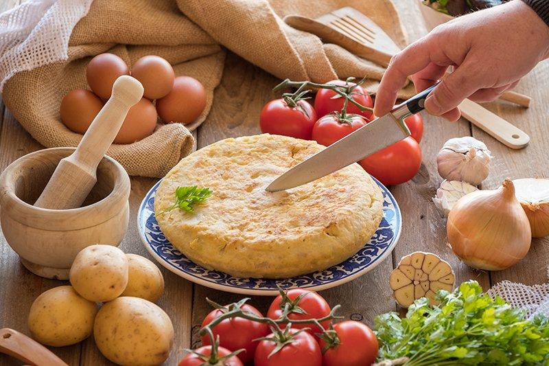 omelet met chorizo - Mr Georges