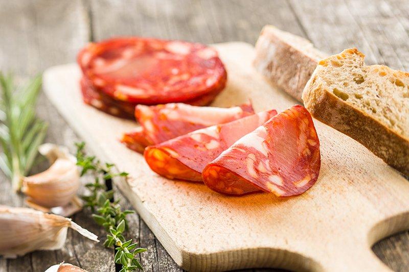 broodje met schelletjes chorizo - Mr Georges