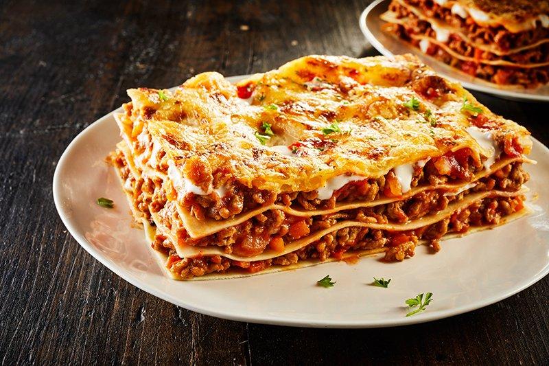 Lasagne met chorizo - Mr Georges