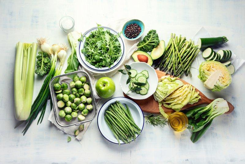 groenten en gezonde voeding - Mr Georges