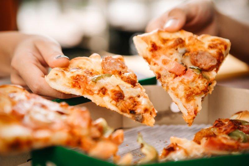 Maigrir grace au pizza - Mr. Georges