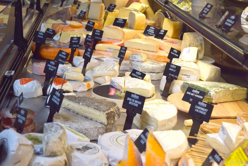 L'assortiment de fromage chez M. Georges