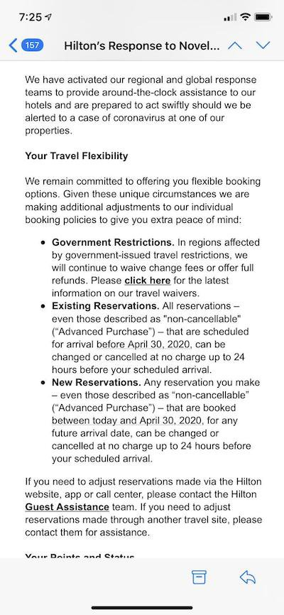 Hilton Cancellation Policy