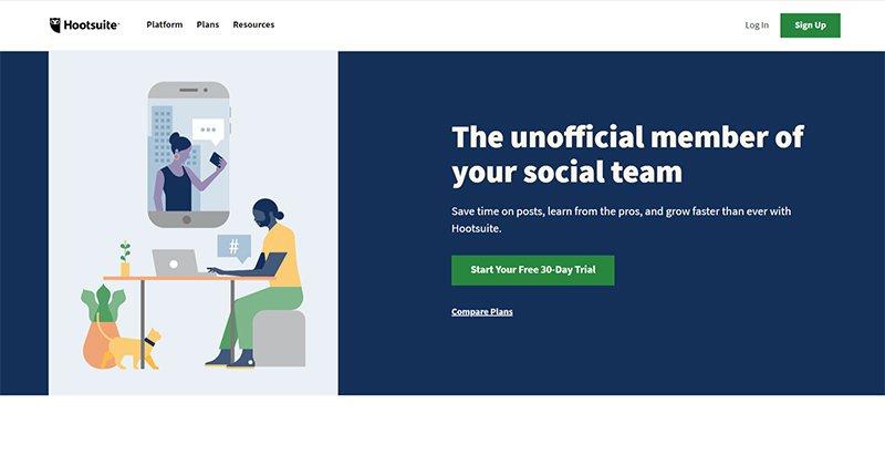 Hootsuite For Social Management