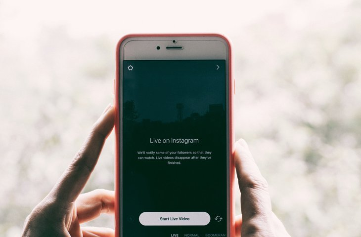 IG Stories or Live Feature