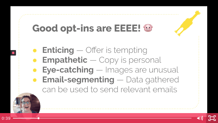 5 opt-in copy secrets for more newsletter subscribers