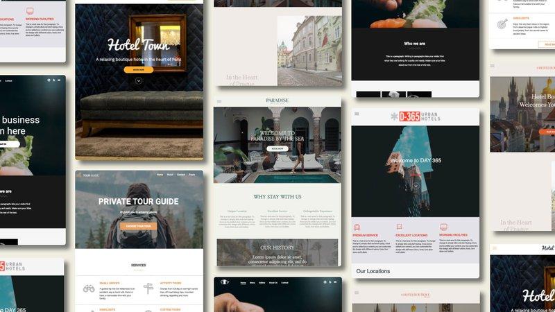 Hotelchamp eCommerce website templates