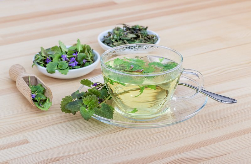 How to prepare herbal tea for cough