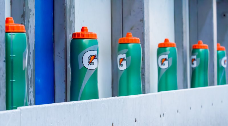gatorade bottle, health drink or fad