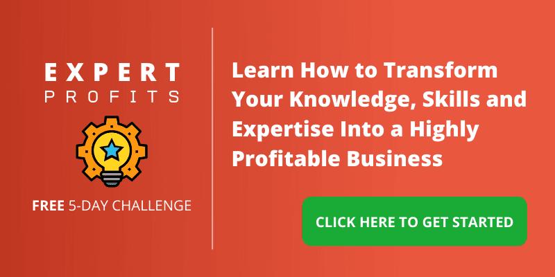 Online Business Development - Expert Profits Challenge