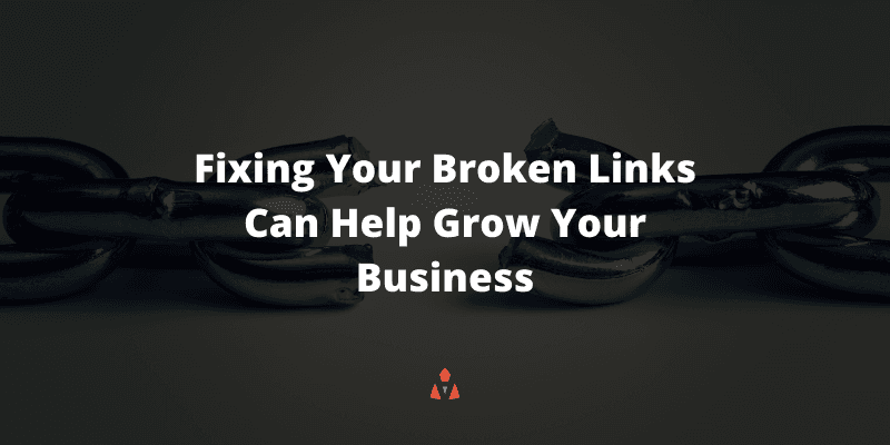 Small Business SEO Mistakes - Not Fixing Broken Links