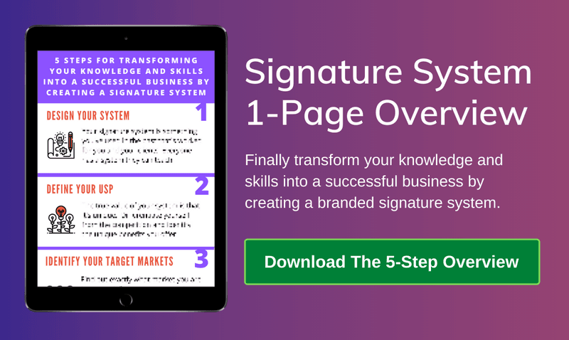 Signature System 1-Page Overview Download Link
