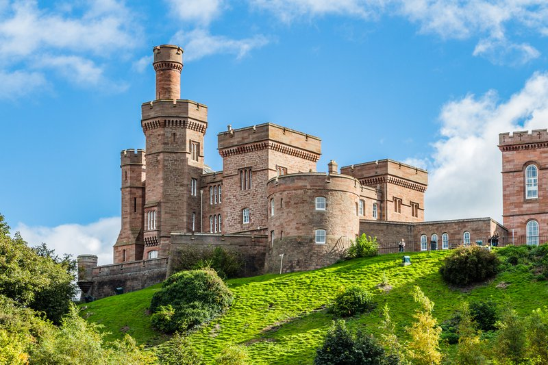 Inverness Castle is an audio tour highlight