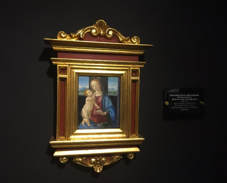 Madonna Dreyfus al museo