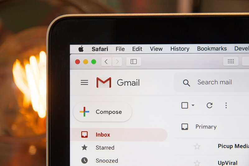 Google Gmail inbox (If using photo in a blog/ article, please link back to our website hostreviews.co.uk :D)