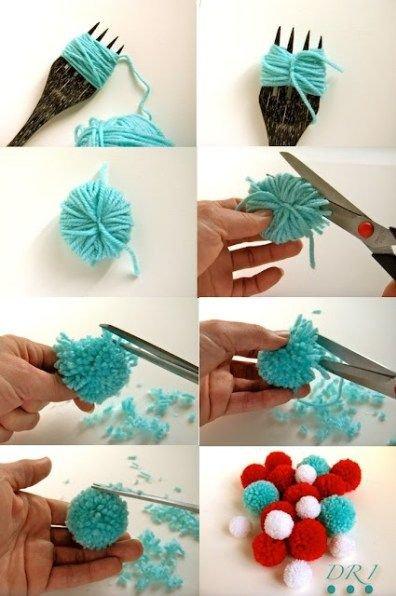 fabriquer un ponpon